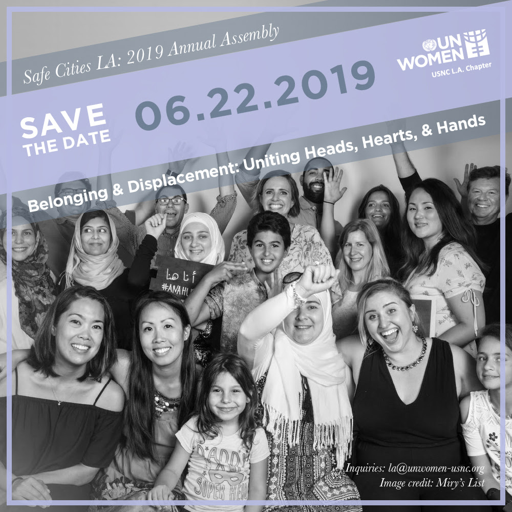 2019 Annual Assembly Belonging and Displacement: Uniting Heads, Hearts, and Hands